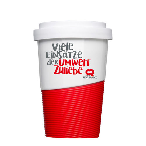Coffe to go Porzellanbecher